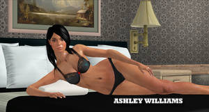 Ashley Williams    LINGERIE-MODEL