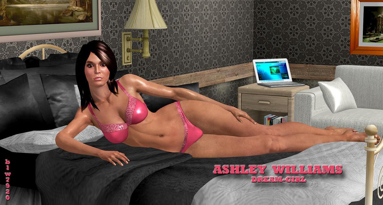Ashley-Williams    DREAM-GIRL by blw7920