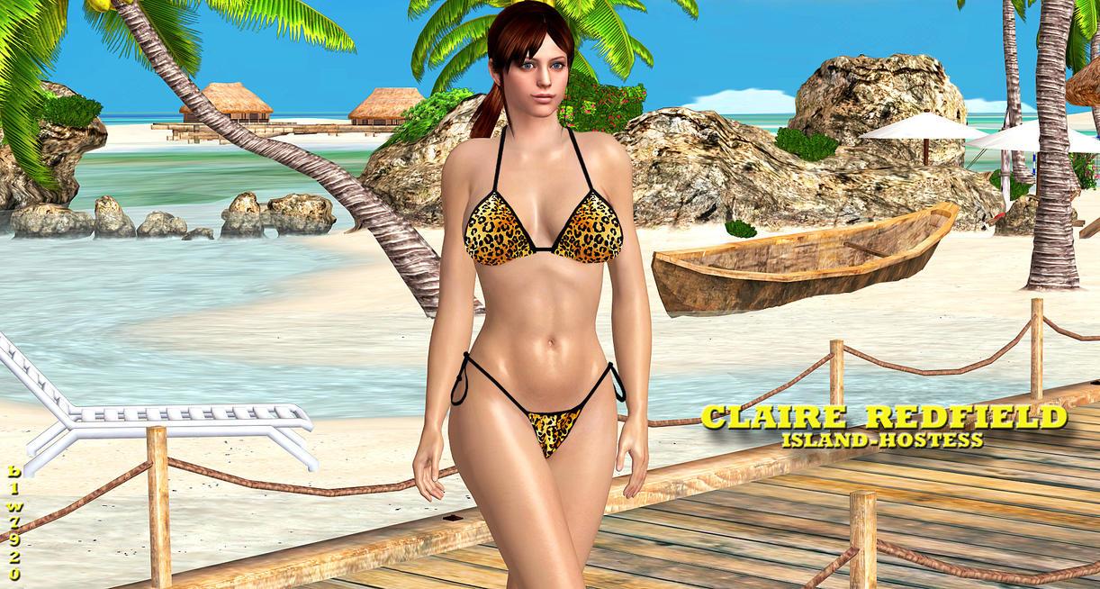 Claire Redfield Bikini 22