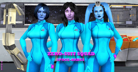 ZERO-SUIT SQUAD   SPACE-BABES     5-1-2017