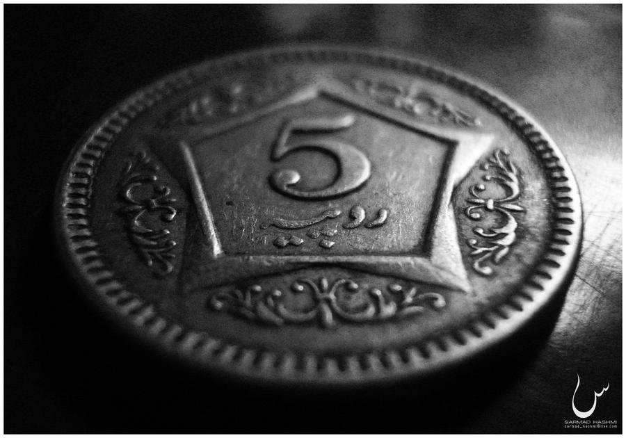 The coin...