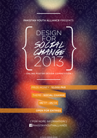 { Design for Social Change 2013 }