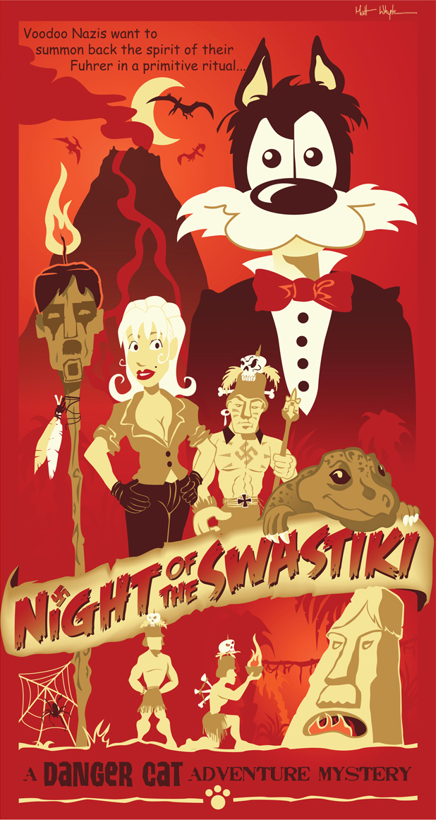 NIGHT OF THE SWASTIKI by DC-Tiki