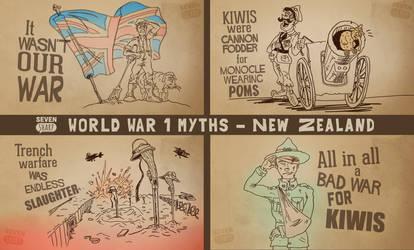 WW1 Myths - NZ by DC-Tiki