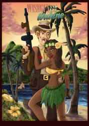 THE WISEGUY AND WAHINE by DC-Tiki