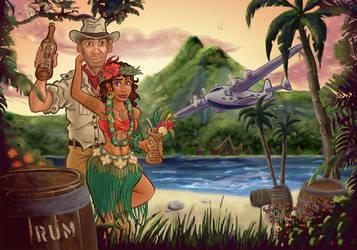 Paradise Bootlegger by DC-Tiki