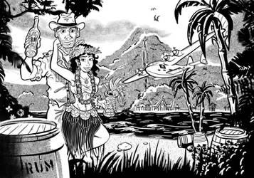 Tropical Paradise Rum Runner by DC-Tiki
