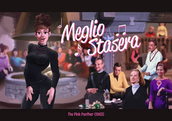 Meglio Stasera (from The Pink Panther) by DC-Tiki