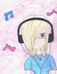 .Music. by kawiikittycat