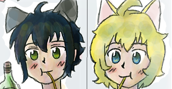 MikaYuu Partner Icons (Owari no Seraph) by Yellyy