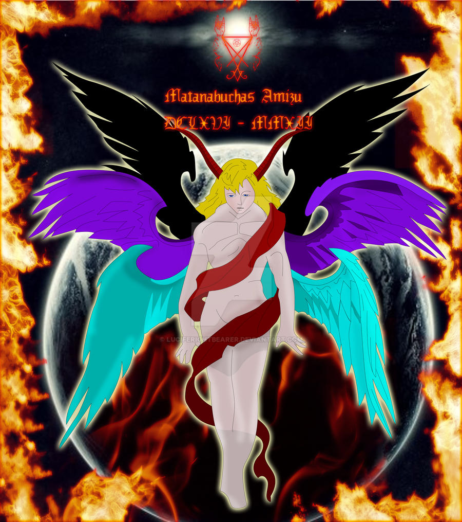 Angelic Lucifer by luciferightbearer