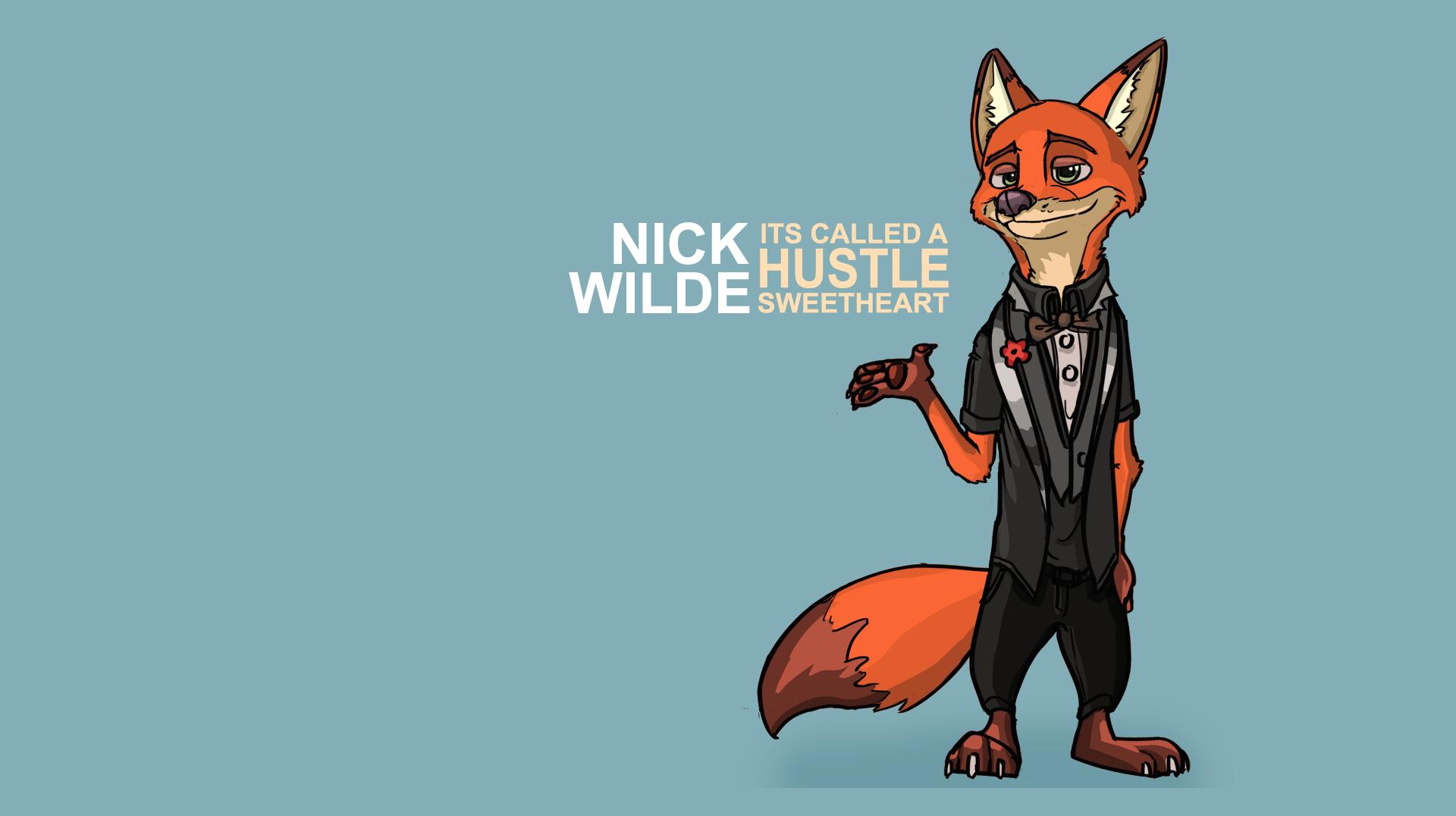 Nick Wilde Desktop Wallpaper By Blockspiration On Deviantart