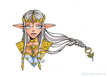 [Crossover] Zelda X Shimy by QueentArts