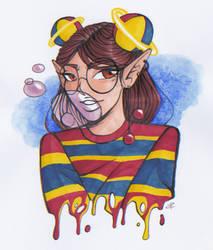 [#dtiys] Gum Gum Gurl by QueentArts