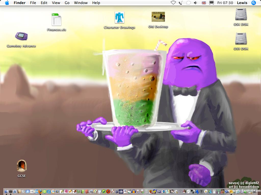 My Desktop by diglett42