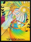 summer fairy by andressanchezart