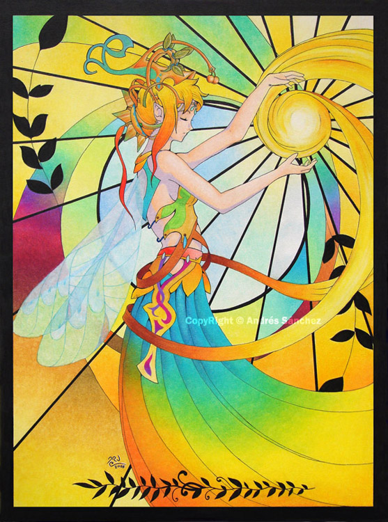 summer fairy by llamadorada