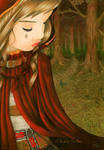 Little Red Riding Hood by llamadorada