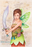 Green wings by llamadorada
