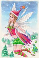 Merry Xmas! by llamadorada