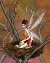the orphans's fairy by andressanchezart