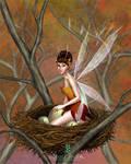 the orphans's fairy by llamadorada