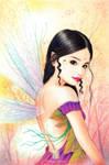 portrait of a fairy by andressanchezart