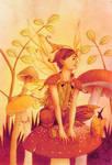 On the mushroom
