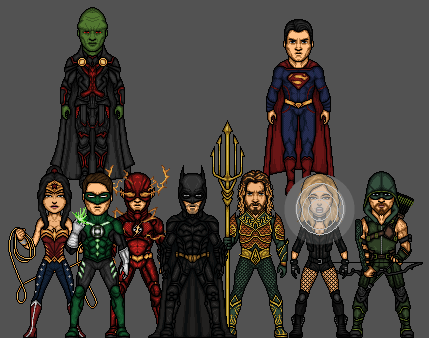 Justice League- (Prime-Earth) by FuryBoy12