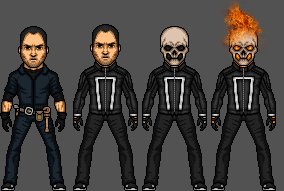 Ghost Rider -New Universe by FuryBoy12
