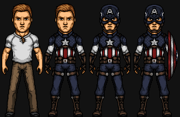 Capitain America (Earth-A) by TGFLAR