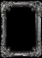 Vintage frame - precut PNG by NathL-fr
