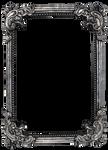 Vintage frame - precut PNG