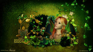 Celtic Princess wallpaper