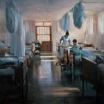 Jeff Merrill 'La Enfermera' Oil 36'