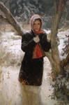 Johanna Harmon 'Noelle' Oil 36'X24