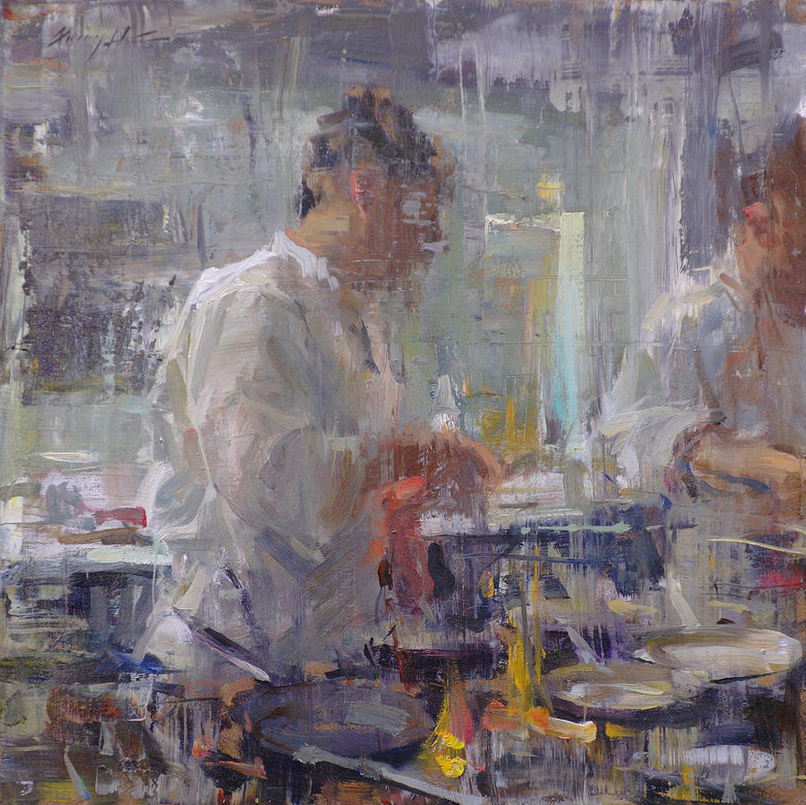 Kitchen Art America Inc: Kitchen Atmosphere 3 By OilPaintersofAmerica On