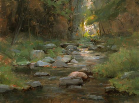 Oak Creek Passage - Dave A. Santillanes