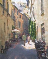 Traipsing in Trastevere - Jennifer A. McChristian