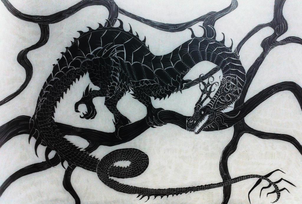 nidhogg dragon norse - 1024×692