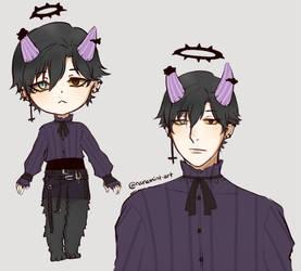 [MYO EVENT] Dark Prince Dolimon - Lucas by nanamint