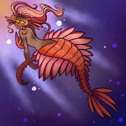Anomalcarid Mermaid-Commission
