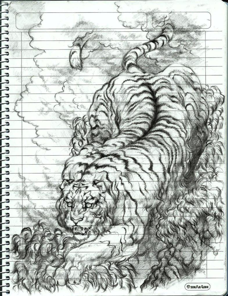giant tiger by MADMANHales on DeviantArt