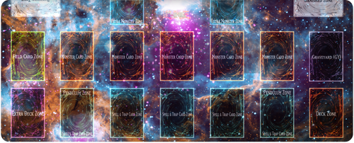 Yu-Gi-Oh! Space Nebula v2 Playmat by Gena97