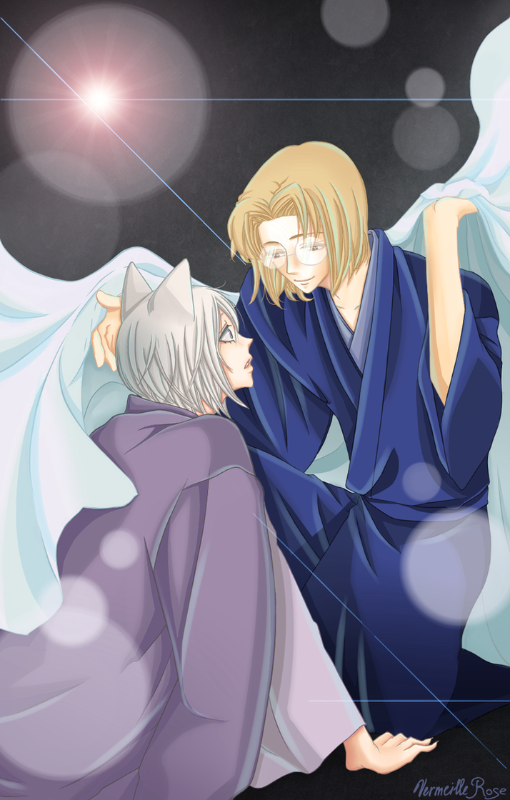 Tomoe And Mikage By Vermeillerose On Deviantart
