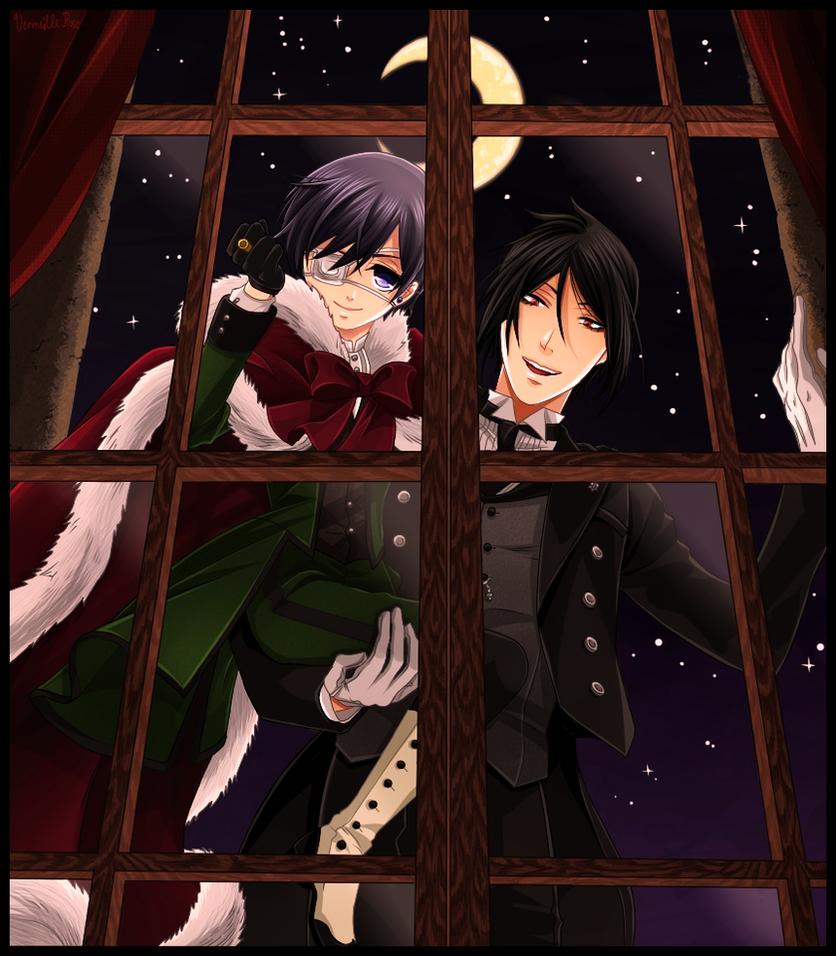 black butler by vermeillerose - Black Butler Christmas