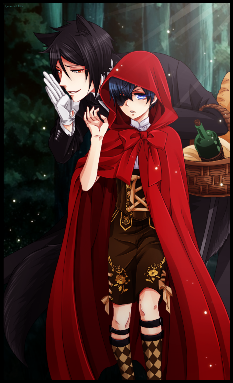 Little red riding hood x wolf anime pictures to pin on pinterest red riding hood sciox Choice Image