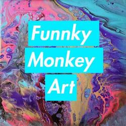 Funnky Monkey Art