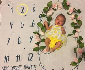 T W O  months old  - July 21, 2019