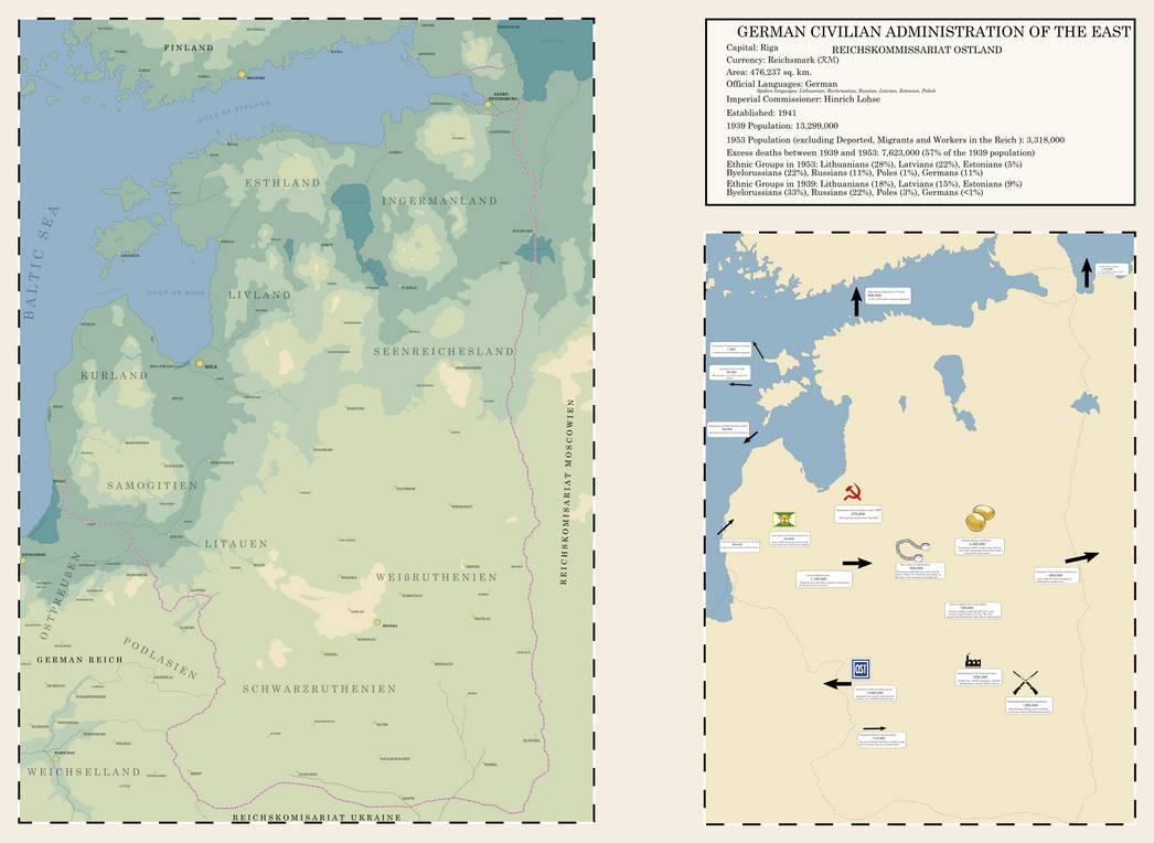 Thousand Week Reich - Reichskommissariat Ostland by TheKutKu on